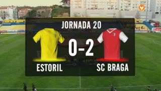 Liga (20ª J): Resumo Estoril 0-2 Sp. Braga