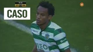 Sporting CP, Caso, Carrillo aos 71'