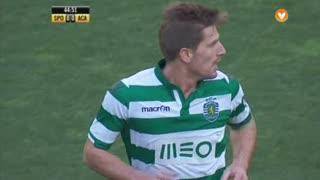 Sporting CP, Jogada, Adrien Silva aos 44'