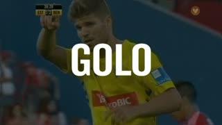 GOLO! Estoril Praia, Diogo Amado aos 38', Estoril Praia 1-2 SL Benfica