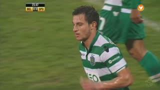 Sporting CP, Jogada, Cédric aos 24'