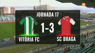 I Liga (17ªJ): Resumo Vitória FC 1-3 SC Braga