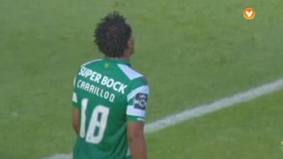 Sporting CP, Jogada, Carrillo aos 31'