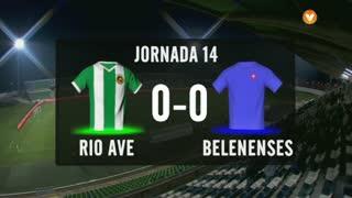 I Liga (14ªJ): Resumo Rio Ave FC 0-0 Belenenses