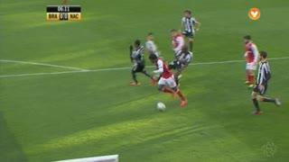 SC Braga, Jogada, Pedro Tiba aos 6'