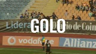 GOLO! A. Académica, Mineiro aos 85', A. Académica 2-0 CD Nacional