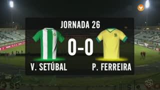 I Liga (26ªJ): Resumo Vitória FC 0-0 FC P.Ferreira