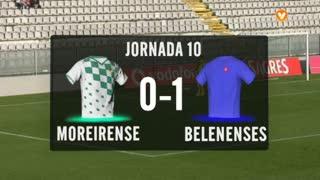 I Liga (10ªJ): Resumo Moreirense FC 0-1 Belenenses