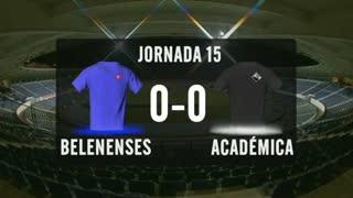 I Liga (15ªJ): Resumo Belenenses SAD 0-0 A. Académica