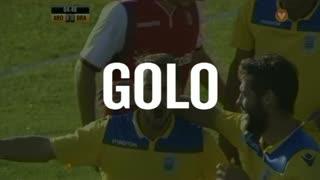 GOLO! FC Arouca, André Claro aos 5', FC Arouca 1-0 SC Braga