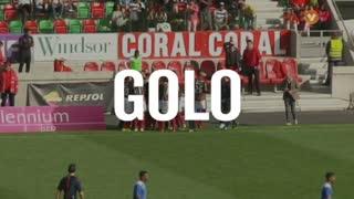 GOLO! Marítimo M., Ebinho aos 30', Marítimo M. 1-0 Gil Vicente FC