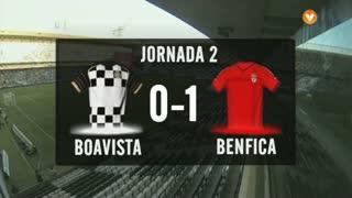 I Liga (2ªJ): Resumo Boavista FC 0-1 SL Benfica