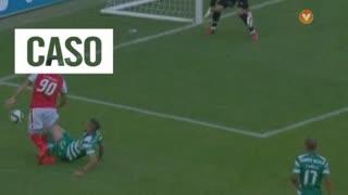 SC Braga, Caso, Felipe Pardo aos 58'