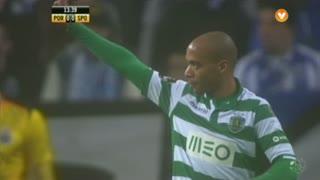 Sporting CP, Jogada, João Mário aos 14'