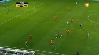 Sporting CP, Jogada, Montero aos 26'