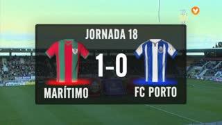 I Liga (18ªJ): Resumo Marítimo M. 1-0 FC Porto