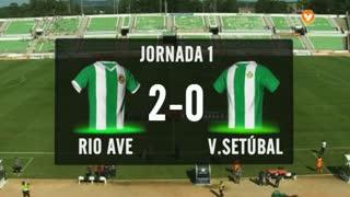 I Liga (1ªJ): Resumo Rio Ave FC 2-0 Vitória FC