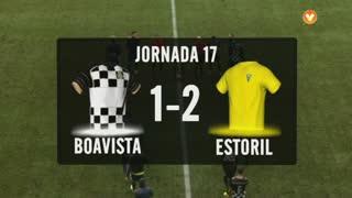 I Liga (17ªJ): Resumo Boavista FC 1-2 Estoril Praia