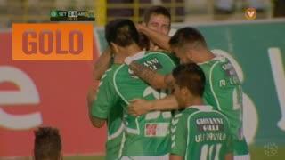 GOLO! Vitória FC, João Schmidt aos 45', Vitória FC 2-0 FC Arouca