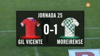 I Liga (25ªJ): Resumo Gil Vicente FC 0-1 Moreirense FC
