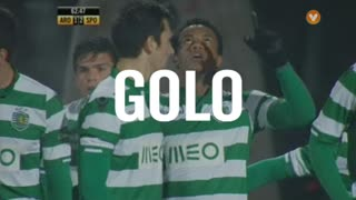 GOLO! Sporting CP, Carrillo aos 62', FC Arouca 1-2 Sporting CP