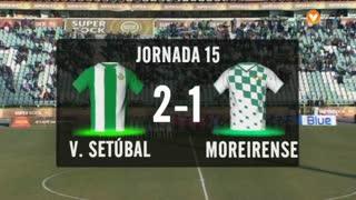 I Liga (15ªJ): Resumo Vitória FC 2-1 Moreirense FC