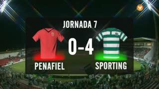 I Liga (7ªJ): Resumo FC Penafiel 0-4 Sporting CP