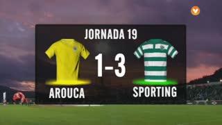 I Liga (19ªJ): Resumo FC Arouca 1-3 Sporting CP