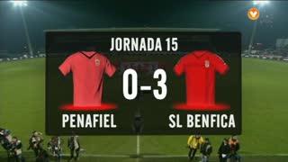 I Liga (15ªJ): Resumo FC Penafiel 0-3 SL Benfica