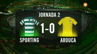 I Liga (2ªJ): Resumo Sporting CP 1-0 FC Arouca