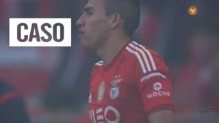 SL Benfica, Caso, Gaitán aos 56'