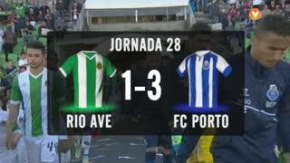 I Liga (28ªJ): Resumo Rio Ave FC 1-3 FC Porto
