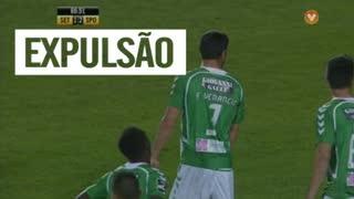 Vitória FC, Expulsão, Frederico Venâncio aos 61'