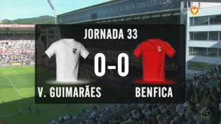 I Liga (33ªJ): Resumo Vitória SC 0-0 SL Benfica