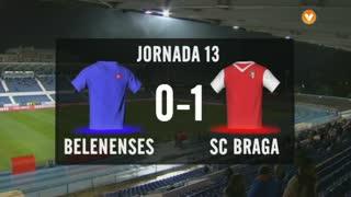 I Liga (13ªJ): Resumo Belenenses 0-1 SC Braga