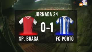 I Liga (24ªJ): Resumo SC Braga 0-1 FC Porto