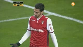 SC Braga, Jogada, André Pinto aos 2'