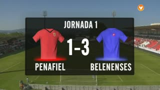 I Liga (1ªJ): Resumo FC Penafiel 1-3 Belenenses
