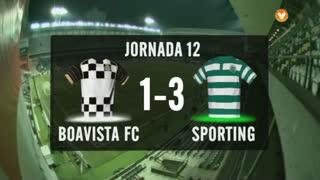 I Liga (12ªJ): Resumo Boavista FC 1-3 Sporting CP