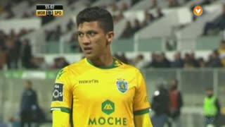 Sporting CP, Jogada, Montero aos 55'