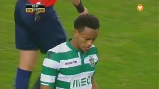 Sporting CP, Jogada, Carrillo aos 10'