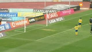 GOLO! A. Académica, Marinho aos 8', A. Académica 1-0 FC Arouca