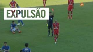 Gil Vicente FC, Expulsão, Gabriel Moura aos 75'
