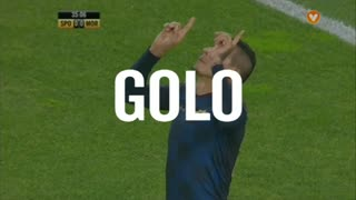 GOLO! Moreirense FC, Ramón Cardozo aos 35', Sporting CP 0-1 Moreirense FC