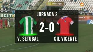 I Liga (2ªJ): Resumo Vitória FC 2-0 Gil Vicente FC