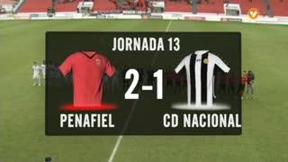 I Liga (13ªJ): Resumo FC Penafiel 2-1 CD Nacional