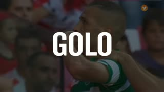 GOLO! Sporting CP, Slimani aos 20', SL Benfica 1-1 Sporting CP