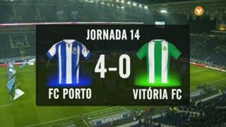 I Liga (14ªJ): Resumo FC Porto 4-0 Vitória FC
