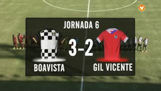 I Liga (6ªJ): Resumo Boavista FC 3-2 Gil Vicente FC