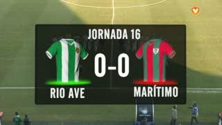 I Liga (16ªJ): Resumo Rio Ave FC 0-0 Marítimo M.